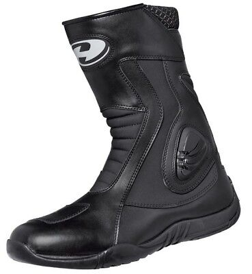 Held Gear Motorrad Leder Stiefel mit Schalthebelverstärkung und robuster Sohle
