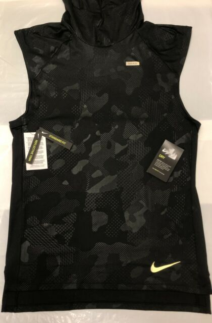0988fbaee6125a NIKE ELEMENT MENS HOODIE RUNNING TANK TOP VEST SLEEVELESS BRAND NEW WITH  TAGS S