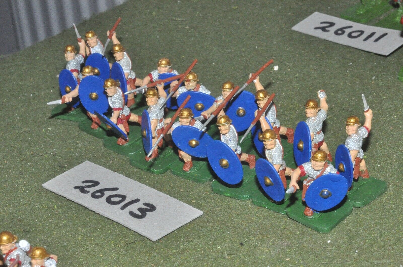 25mm roman era   roman - auxiliaries 16 figures - inf (26013)