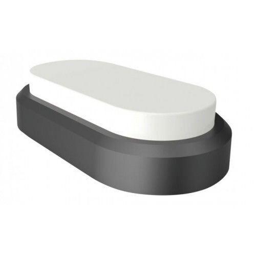 V-TAC noire ovale Dome Light DEL 8 W IP54 BLANC FROID salle de bains cuisine plafond mur