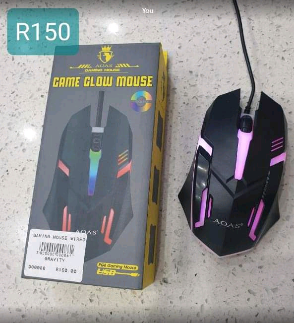 WIRED GAMING MOUSE- Gravity Electronics