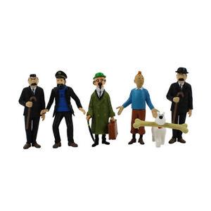 Tintin Figures - 6 Piece Set