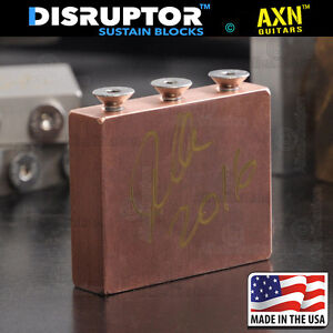 New-AXN-SuperWide-made-in-USA-Copper-Boutique-Sustain-Block-for-floyd-rose