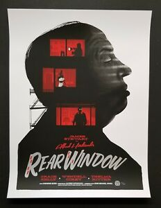 details about alfred hitchcock rear window mondo movie poster gary pullin variant screen print
