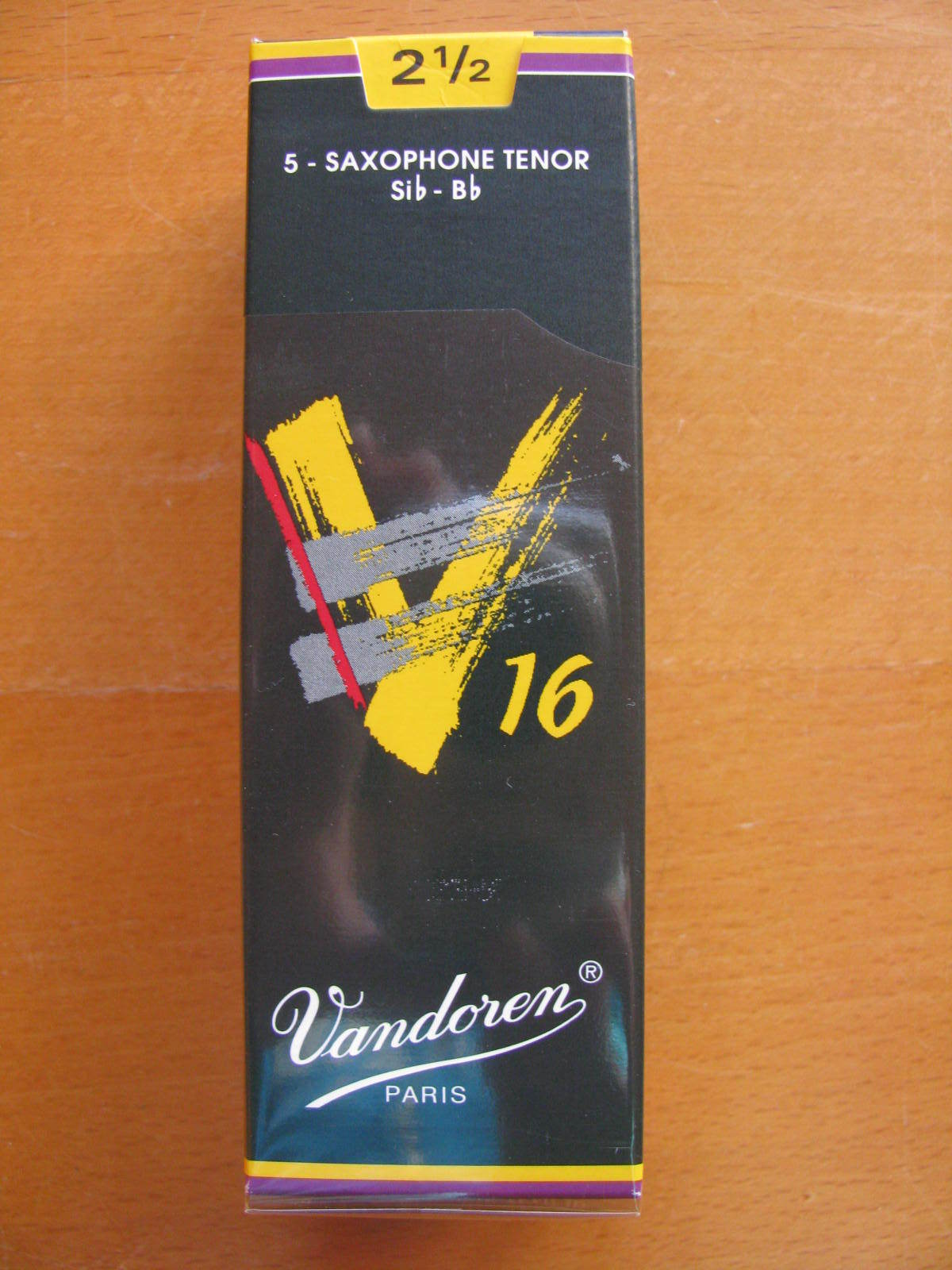 Vandoren V16 Blätter 3 Tenor Sax 5er Packung