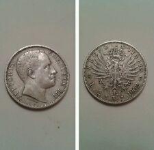 RARA 2 lire 1902 aquila sabauda Vitt Eman III bellissima +