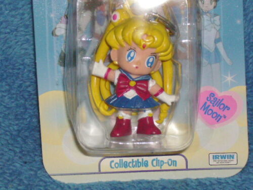 THE ORIGINAL SAILOR MOON IRWIN KEYCHAIN 18 YEARS OLD AND STILL NEW IN PACKAGE