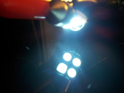 "2 x Xenon White 31mm 1.25/"" DE3021 6461 LED 4-SMD Wedge Interior Dome Light Bulbs"