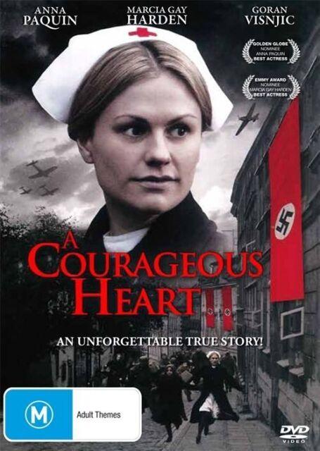 A Courageous Heart (DVD, 2011)*R4*Anna Paquin*True Story*Terrific Condition