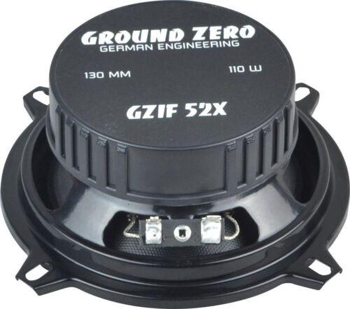 Ground Zero Iridium Lautsprecher Koax 220 W für Mitsubishi Spacestar 98-05