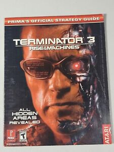 TERMINATOR 3: RISE OF MACHINES PRIMA'S OFFICIAL STRATEGY By Greg Kramer