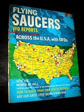 FLYING SAUCERS UFO REPORTS MAGAZINE FROM DELL #3 ISSUE 1967