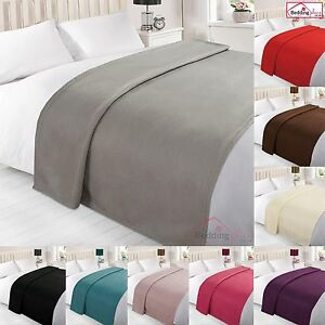 Dreamscene-Warm-Soft-Plain-Fleece-Throw-Over-Large-Decorative-Sofa-Bed-Blanket
