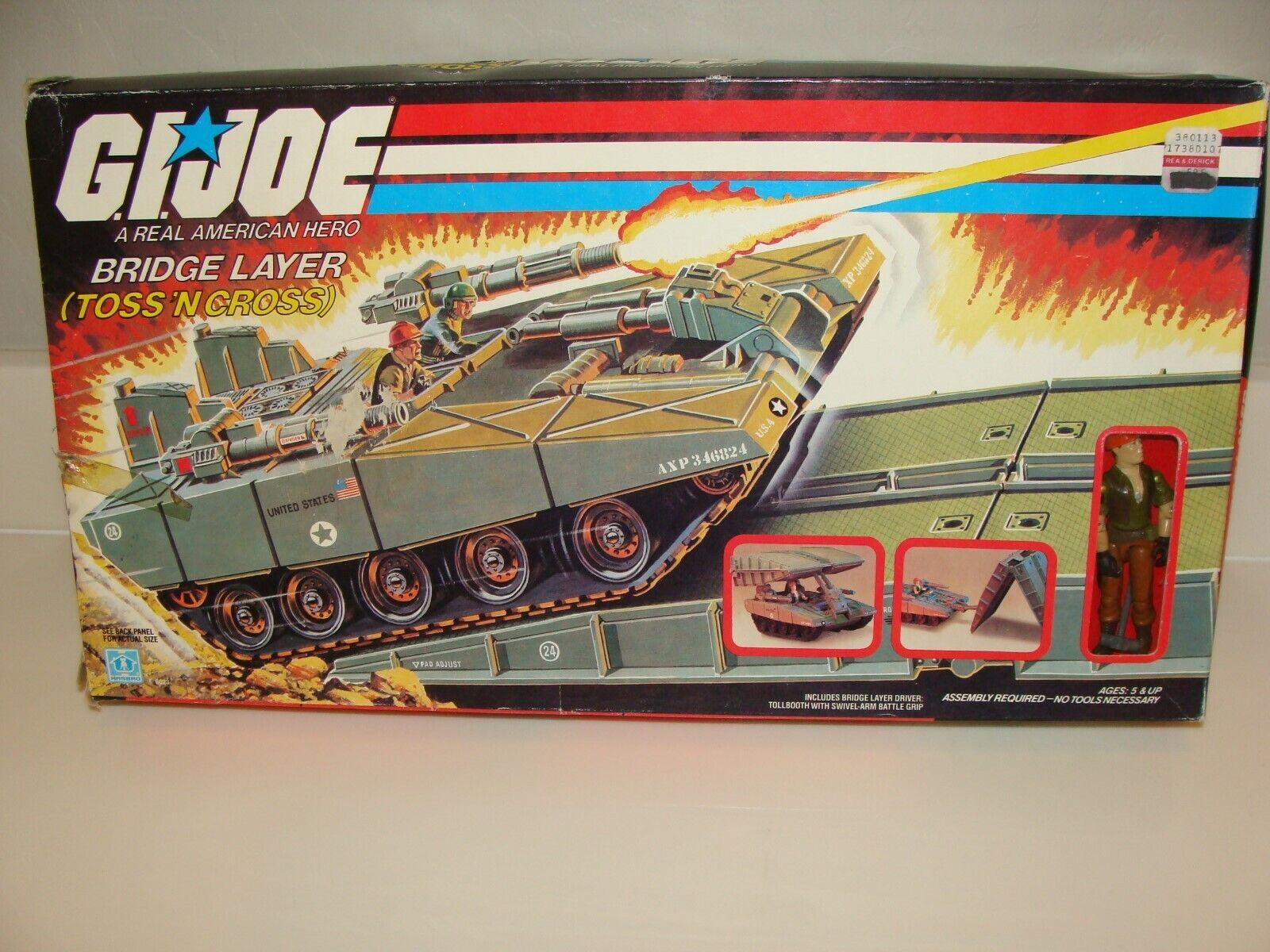 G.I.Joe Bridge Layer Toss N' Cross 1985