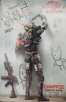 "Chappie Ver B Two Sided 27""x40' inches Original Movie Poster Neill Blomkamp"