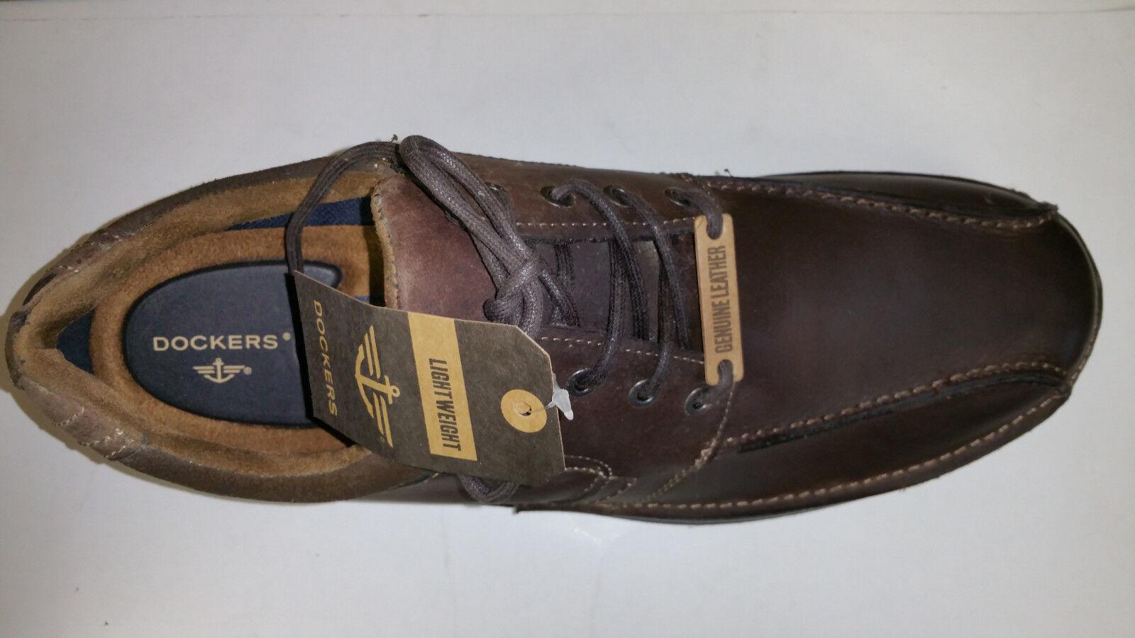 Dockers Lawtner Lawtner Lawtner Light Weight Chocolate Pelle Casual Shoes size 7-12 75d959