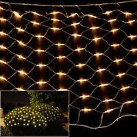 led lichternetz buchskugel rund buchsbaum 35 50 cm batteriebetrieb netz ebay. Black Bedroom Furniture Sets. Home Design Ideas