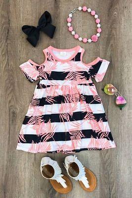 1-6Y Baby Girls Newborn Kids Xmas Leaves Skirt Dress Party Dresses Gift