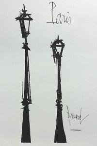 Bernard-BUFFET-Paris-GRAVURE-signee-1961-197ex