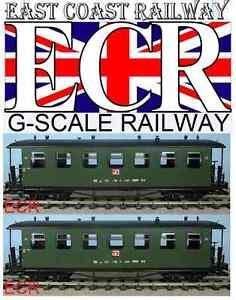 Marke Neu G Maßstab 45mm Spur Eisenbahn Personen Rot Träger Coach Garten Zug Other G Scale Model Railroads & Trains