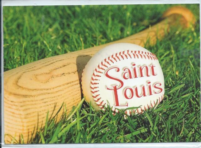 Baseball,  St. Louis,  St. Louis, Missouri Postcard