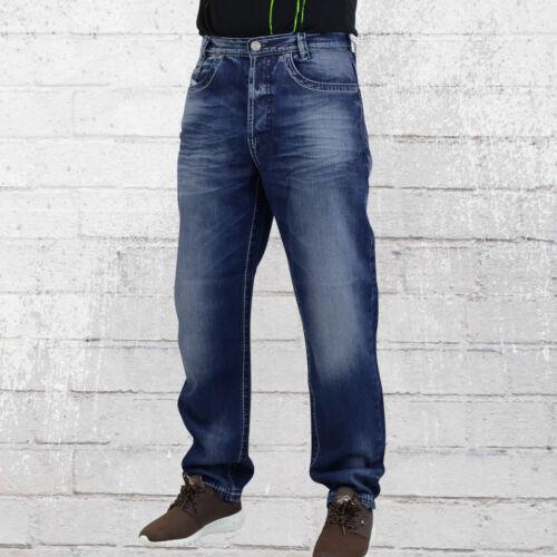 Hose Loose Herren Dunkelblau Carlos Mens Viazoni Jeans Männer Pant Fit Jeanshose qtwUx8d