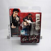"""Mcfarlane """"elvis Presley"""" 68' Comeback Special Figure"""