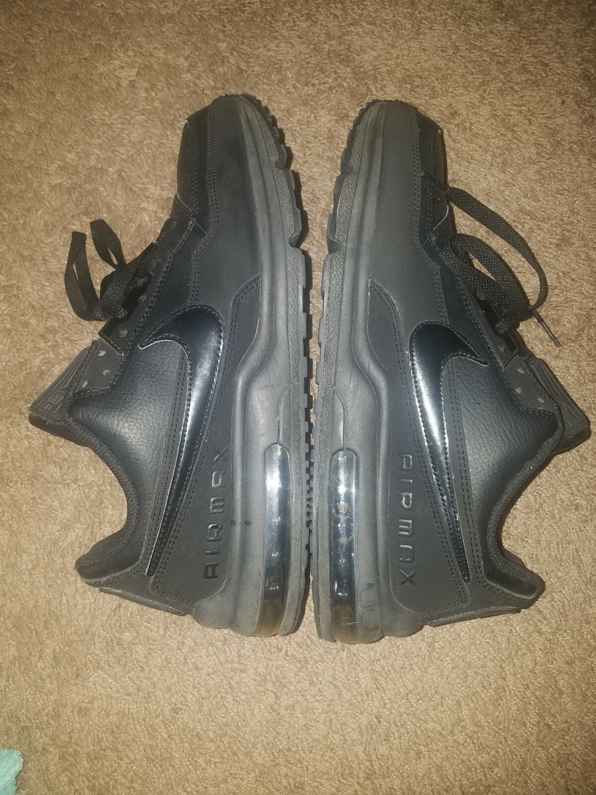 Air Max 90 Ninja Mens black sneaker size 12 12 12 Previously owned 6a5ab7