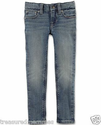 Polo Ralph Lauren Girls Bowery Skinny Jeans ~ Size 4T ~ New With Tags MSRP $35.