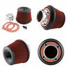 Apexi Universal Car Intake Flow Reloaded Air Filter 75mm Dual Funnel Adapter New