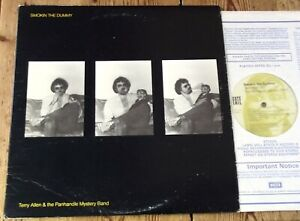 Terry Allen & The Panhandle Mystery Band : Smokin' The Dummy - US Fate LP 1980