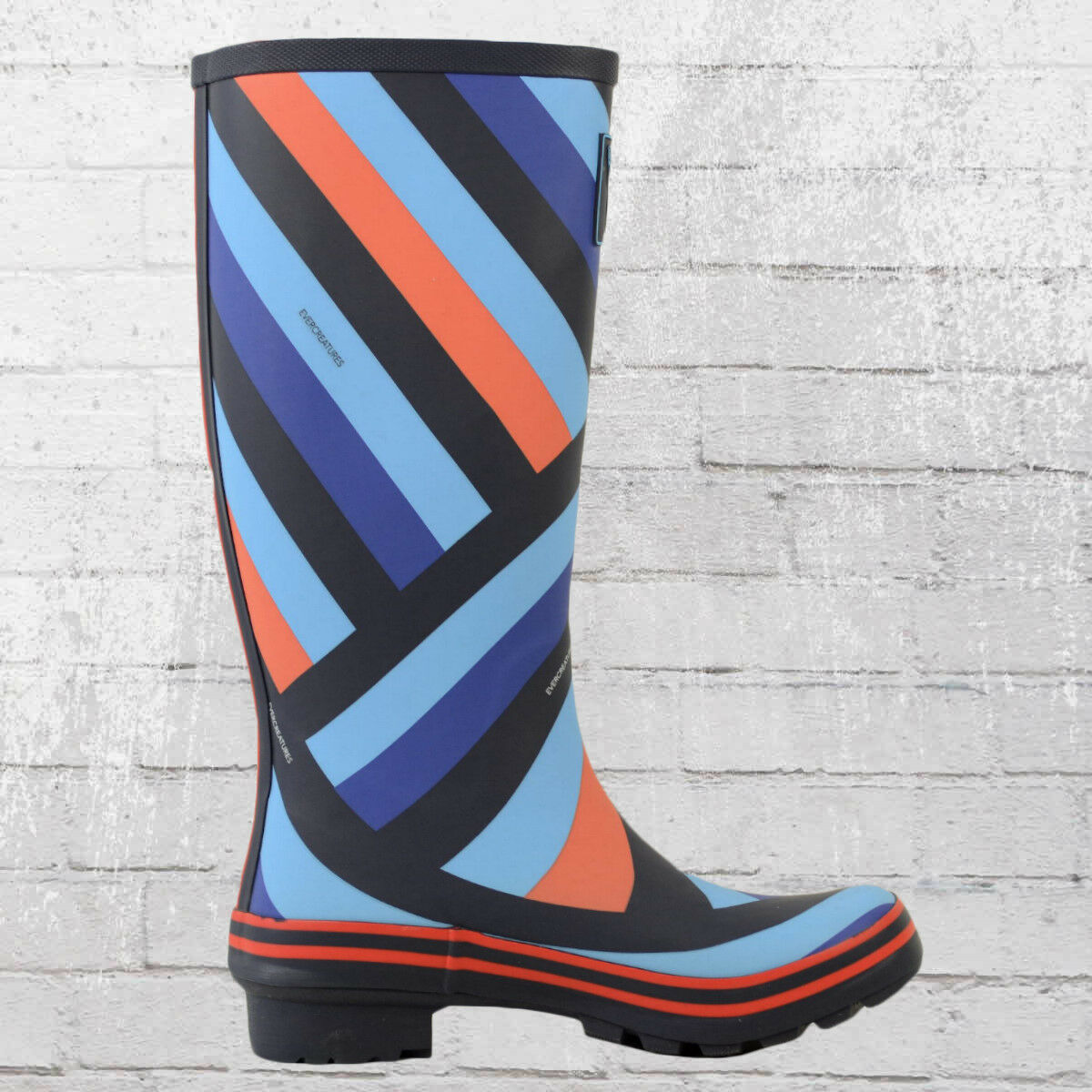 Evercreatures Wellington Frauen blau Gummistiefel Club navy blau Frauen Wellington Wellies 89cfc6