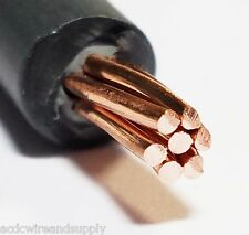 Solar PV WIRE 100 FT POWER CABLE BLACK - 12 AWG COPPER- UL 4703 2000v USA