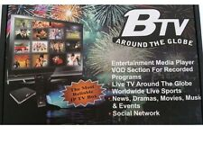 BTV Box NEW ANDROID 5G IPTV BTV-1000 HD+ Hindi, Urdu, BANGLA / JULY-2017