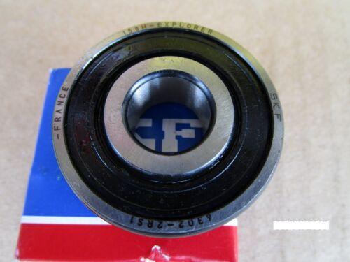 SKF 6302 2RS1 Deep Groove Roller Bearing =2 FAG, SNA, NTN VV, NSK, TIMKEN 302