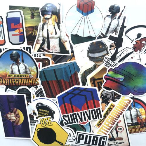 29Pcs Rondom PUBG Graffiti PVC Stickers Skateboard Luggage Laptop Car Decals