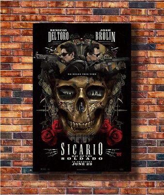 T1792 20x30 24x36 Silk Poster Sicario Day of the Soldado Art Print