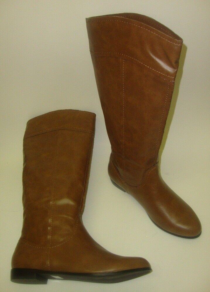 COLIN STUART Damen hohe Stiefel / kniehohe Stiefel 41 hellbraun NEU