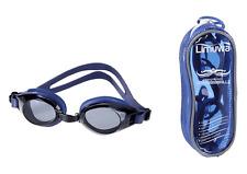 Limuwa Schwimmbrille DELUXE mit Antibeschlag- und 100% UV-Schutz + Tasche