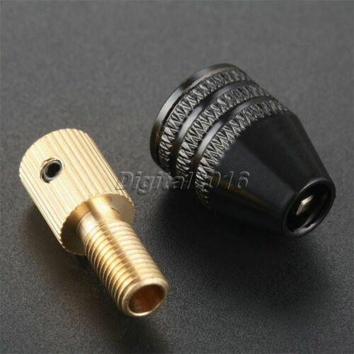 Micro Electronic Drill Bit Collet Universal 0.3-3.4mm Mini Chuck Clamp Tool 1Set