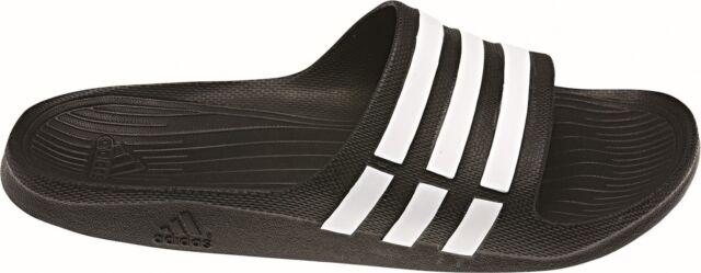 san francisco add59 52ac9 Adidas Performance Tongs Duramo Slide Noir
