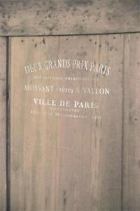 Jeanne-d-039-Arc-Living-Schablone-Stencil-Template-Ville-de-Paris-vintage-und-shabby