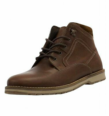 Red Tape Men's Reelan Leather Casual Boots Tan