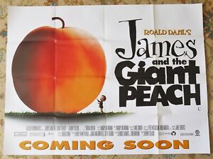 James-And-The-Giant-Peach-quad-film-cinema-poster-1996-Joanna-Lumley