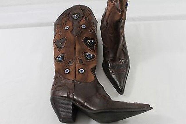 TS0146 Graceland Stiefel Gr. EU 36 Braun Damen Schuhe