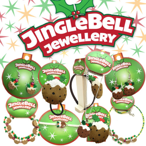 Gift Jewellery Festive Christmas Novelty Childrens Choose Christmas Pudding