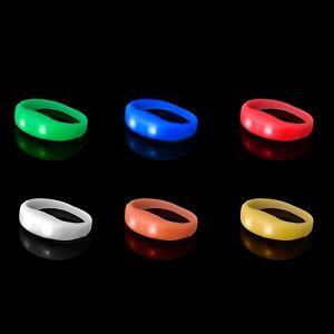 Armband LED Leuchtarmband Nachtlicht Sicherheitsband für Partykonzert