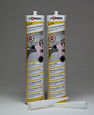 EntrüCkung 2x Förch Klebe-dichtmasse K126 Karosseriekleber Spoilerkleber Metallkleber Werkzeuge