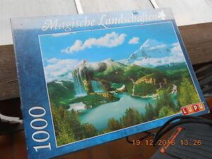 Puzzle 1000 Teile --Magische Landschaften-- Fa. LUPU in versiegelter Verpackung - Ingolstadt, Deutschland - Puzzle 1000 Teile --Magische Landschaften-- Fa. LUPU in versiegelter Verpackung - Ingolstadt, Deutschland