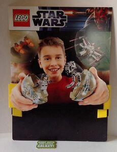 LEGO STAR WARS affiche carton PLV deco chambre 57x79cm collection Rare NEUF